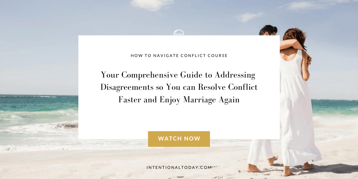 How to navigate conflict in marriage