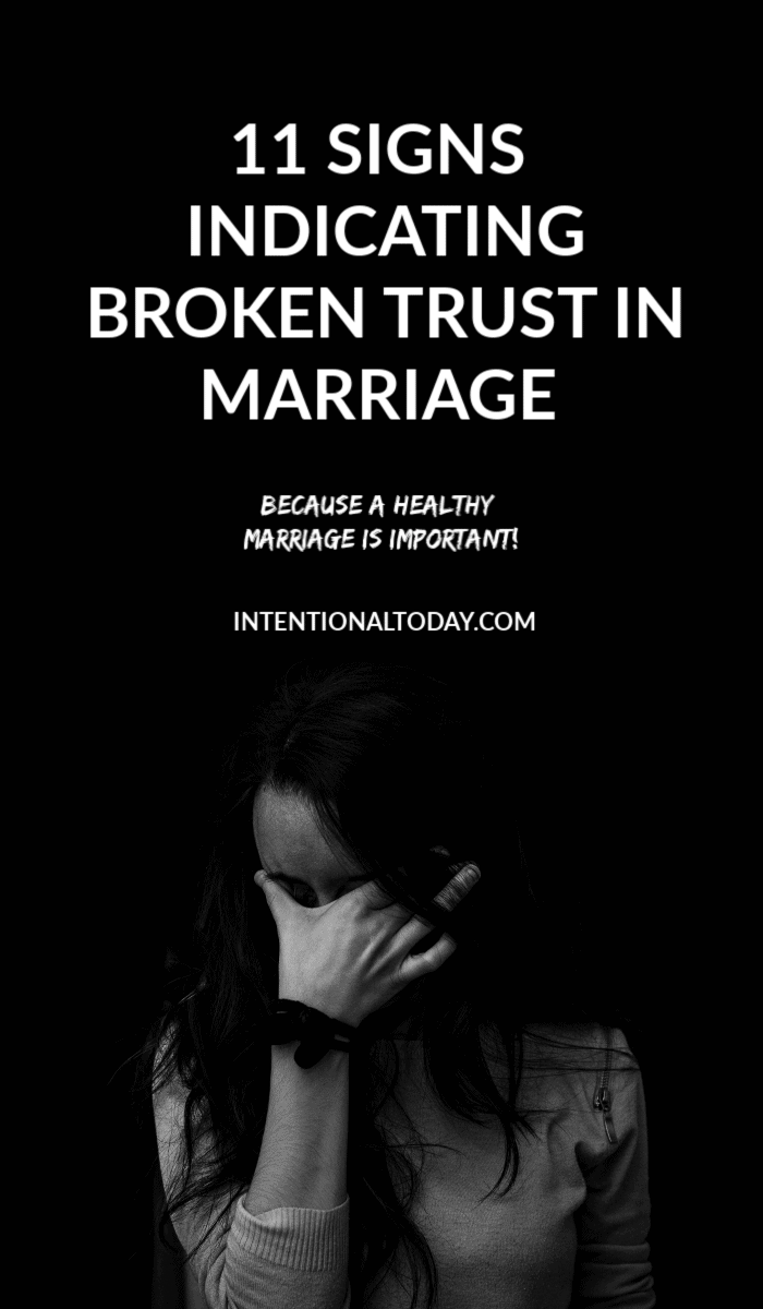 Untrustworthy husband - how can a wife work through trust issues in marriage? What are the signs to look out for and what actions can she take?