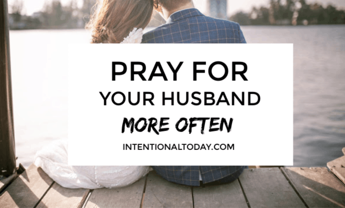 How often do you pray for your husband? For many wives, the answe is not often enough. Here are two keys to help you pray for your husband more often