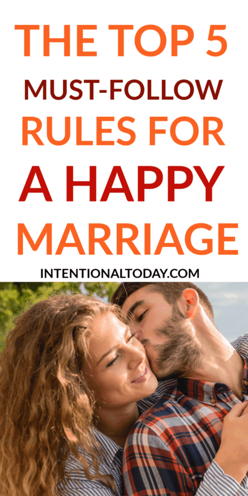 Rules for a happy marriage - there's no denying the fact that most happy marriages are built on certain unchanging fundamentals. Here are the top five!