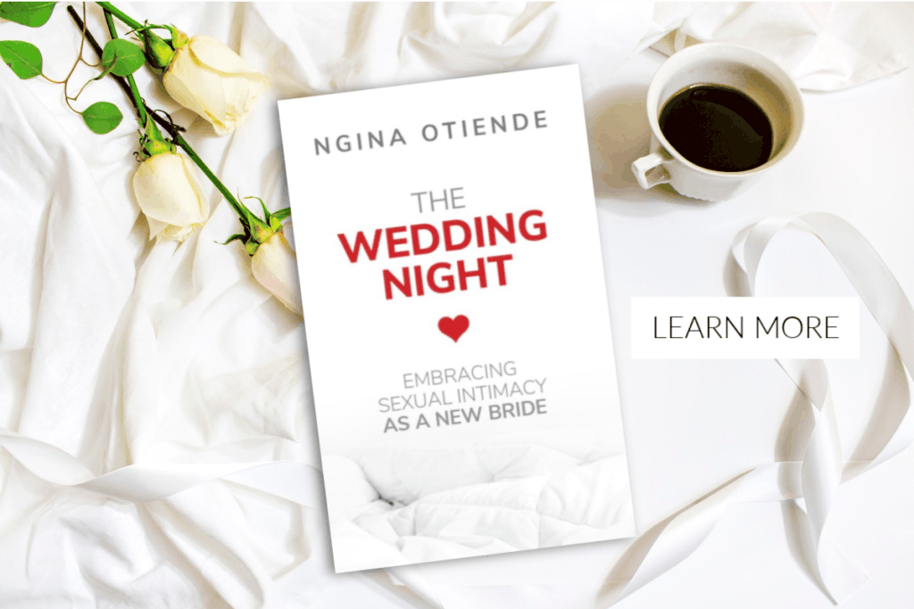 https://www.amazon.com/Wedding-Night-Embracing-Sexual-Intimacy-ebook/dp/B0742BX57K/ref=sr_1_1?ie=UTF8&qid=1500567151&sr=8-1&keywords=the+wedding+night+ngina+otiende
