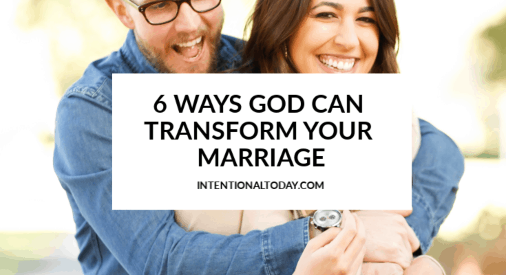 A relationship with God transforms marriage - is that true? How do we create a marriage masterpiece in the middle of messy seasons of marriage? 6 top ideas