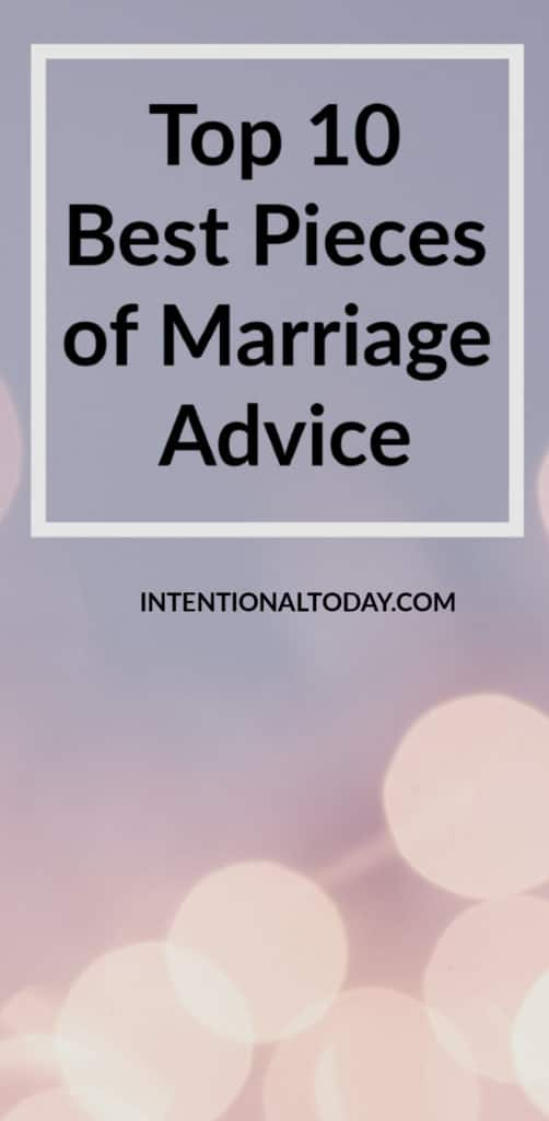 Best pieces of marriage advice from 2019