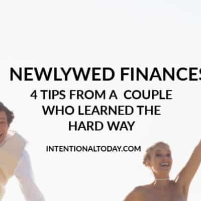 What's the best newlywed financial advice you never received? My husband and I learned the hard way. Here are four things you must do early as a new couple