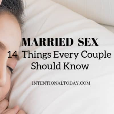 Married sex - what every couple needs to know