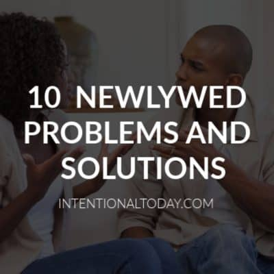 The first year of marriage can be hard. Couples give up because marriage requires a little more effort than dating. 10 problems and answers for newlyweds