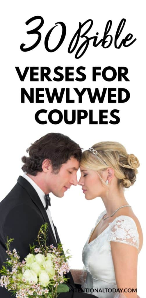 Bible verses for newlywed couples to strenghthen marriage - how Scripture helps and instructs new couples navigate marriage problems