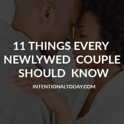 Newlywed Advice For Christians to Strengthen Marriage