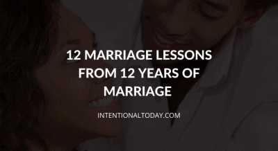What can 12 years of marriage teach you? Heartwarming reflections and lessons from 12 years of marriage