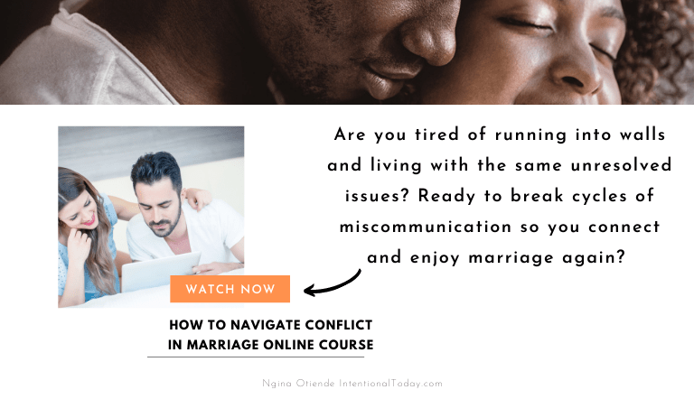 How to navigate conflict in marriage so you can heal your connection and enjoy marriage again