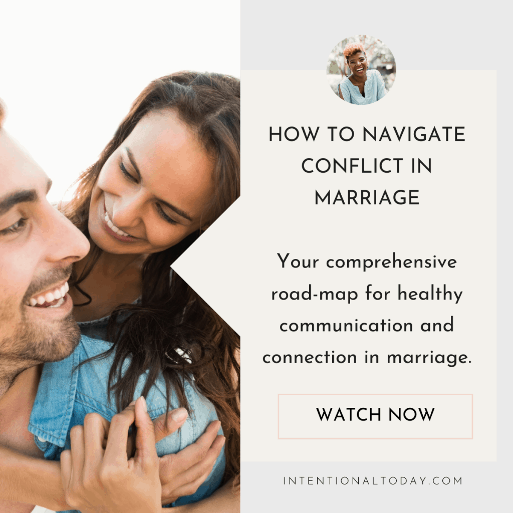 How to navigate conflict in marriage - improve your communication, heal your connection so you can enjoy marriage again