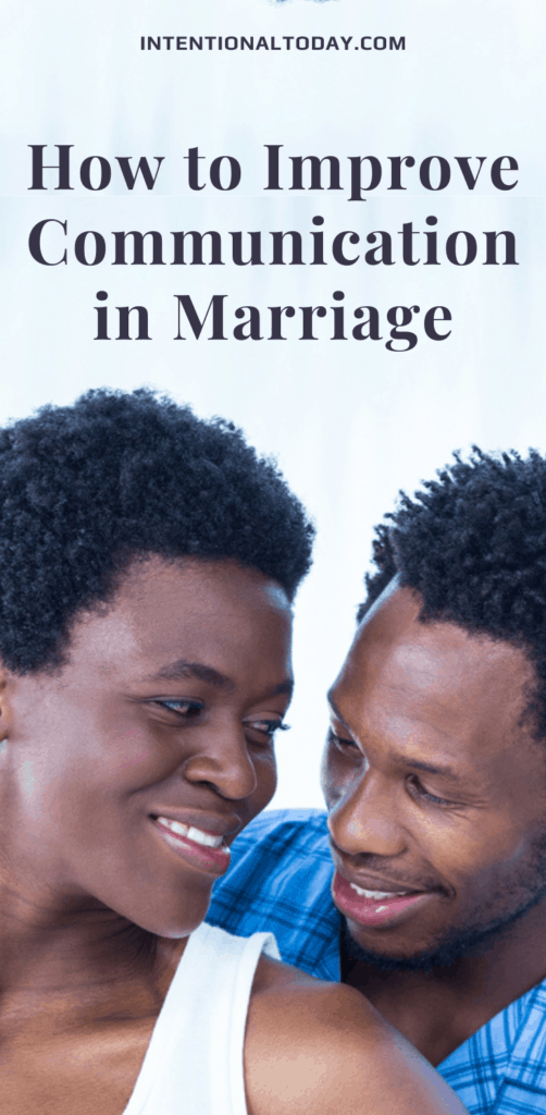 How do you improve communication in marriage when you are the only person in the relationship interested in a healthy marriage? What to do.