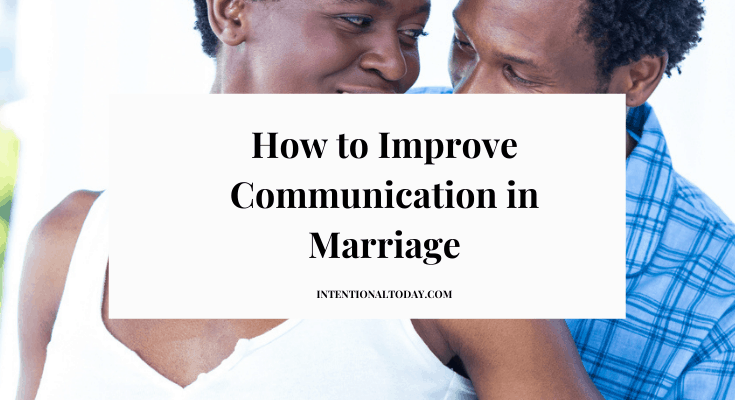 How do you improve communication in marriage when you are the only person in the relationship interested in a healthy marriage? One important step