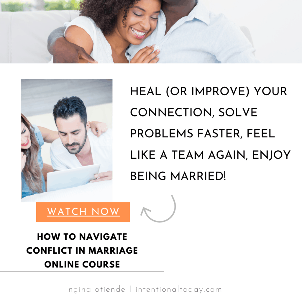 How to navigate conflict in marriage faster so you can connect and feel like a team again