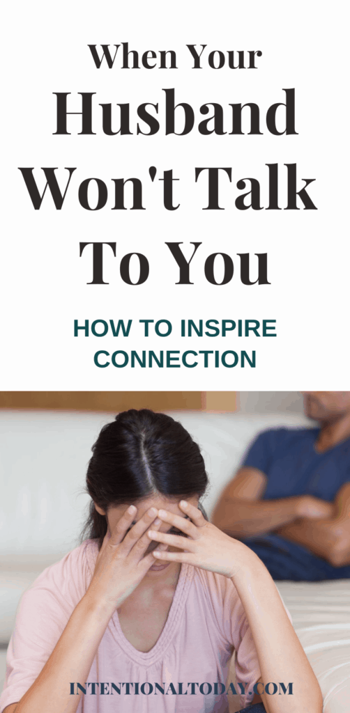 Has your husband shut down? A practical way to inspire connection and heal the wounding