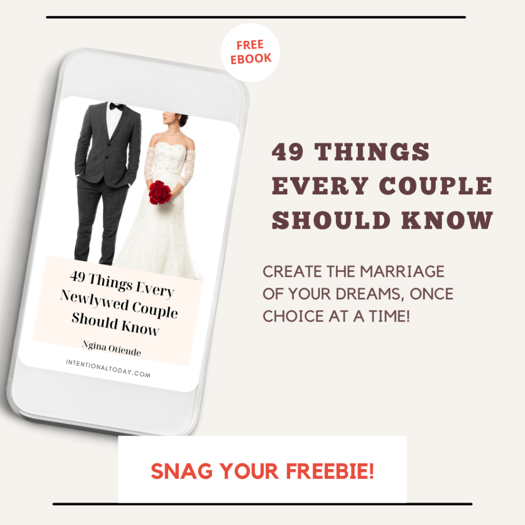 49 things every newlywed couple should know about marriage so they can thrive - free ebook