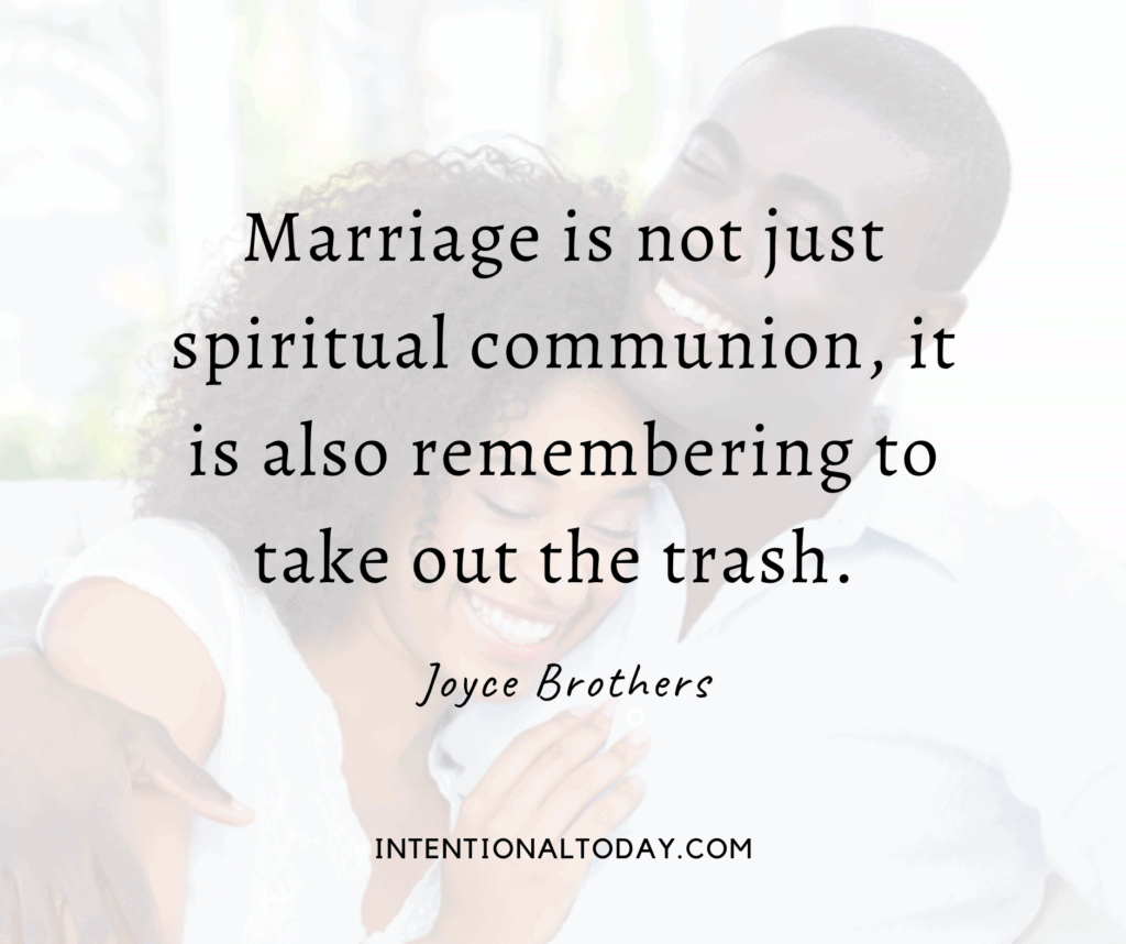 Good newlywed quotes for marriage - Marriage is more than a spiritual communion...